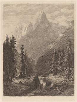 Alexandre Calame, 'Mountain Meadow', 1840, National Gallery of Art, Washington, D.C.