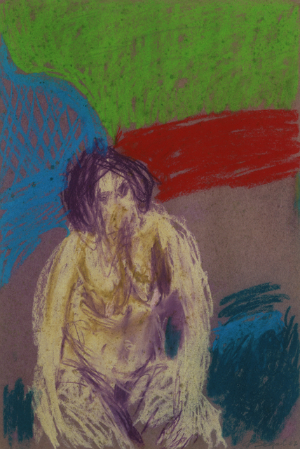 , 'Untitled (Nude with Purple Hair),' 1962, Broadway 1602