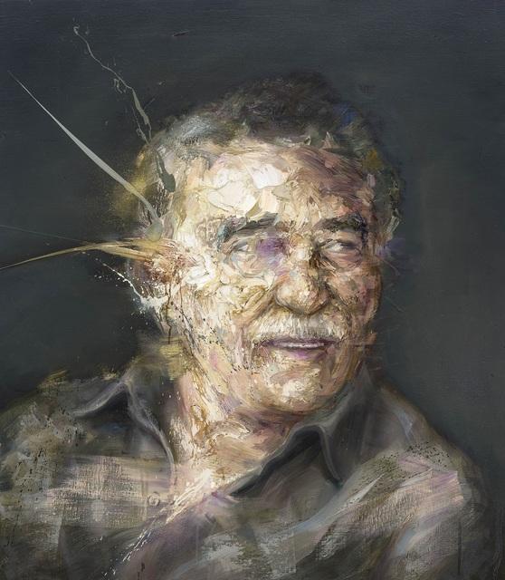 , 'Gabriel Garcia Marquez,' 2018, Thompson Landry Gallery