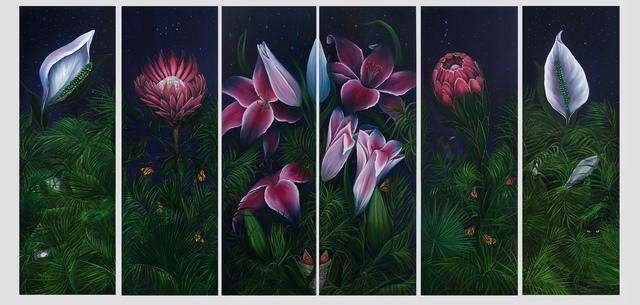 Allison Green, 'The Night Garden', 2017, Susan Eley Fine Art
