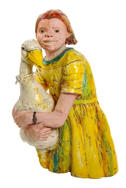 Viola Frey, 'California Garden Goose Girl', 1975, Hindman