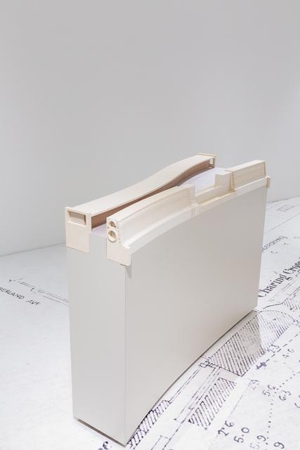 Eloise Hawser, 'Interception (1)', 2018, Sculpture, Freestanding ceramic sculpture with plywood and formica base, VI, VII