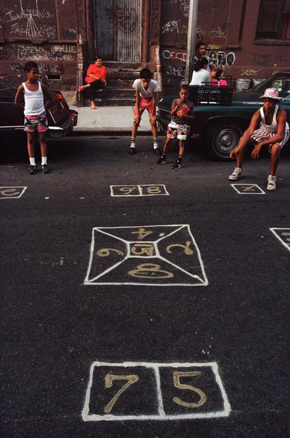 , 'Skeely Street Game, Spanish Harlem, NY,' 1987, Hardhitta Gallery
