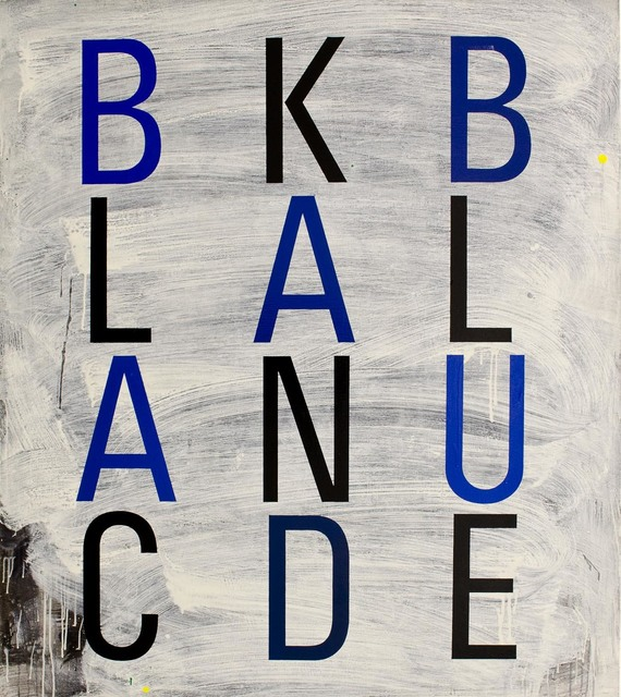 Enn Erisalu, 'Black and Blue', 1990, Gallery Jones