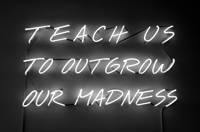 , 'Teach Us To Outgrow Our Madness,' 1995, Galerie Lelong & Co.