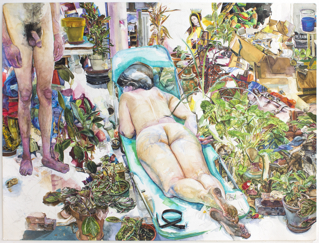 , 'In the Garden,' 2010-2016, New York Studio School