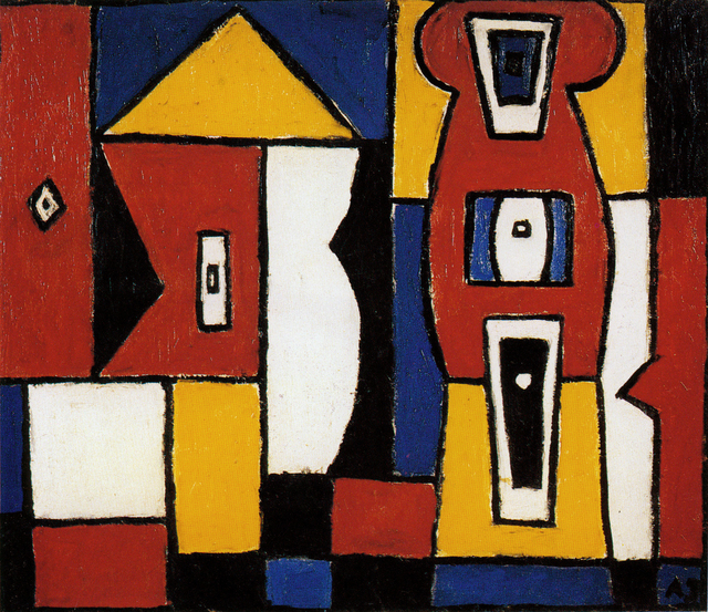 , 'Construction in Five Colors,' 1945, Cecilia de Torres, Ltd.