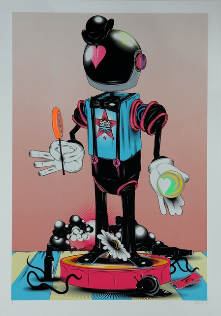Phunk, 'Monsieur Robo', 2008, Addicted Art Gallery