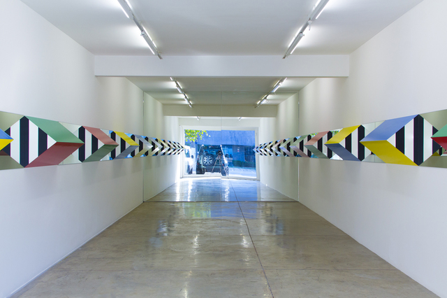 , 'Prisms and Mirrors, high reliefs,  situated works 2016/2017 for Sao Paolo,' 2016, Galeria Nara Roesler