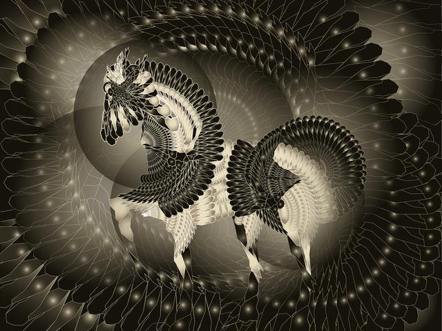 , 'Pegasus 飞马,' 2014, Galerie Dumonteil