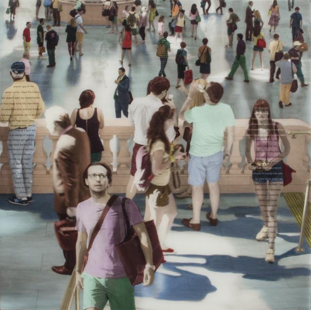 , 'Harmony of Strangers,' 2015, Sue Greenwood Fine Art