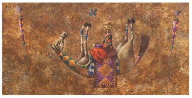 , 'Chavandoz,' 2014, Andakulova Gallery