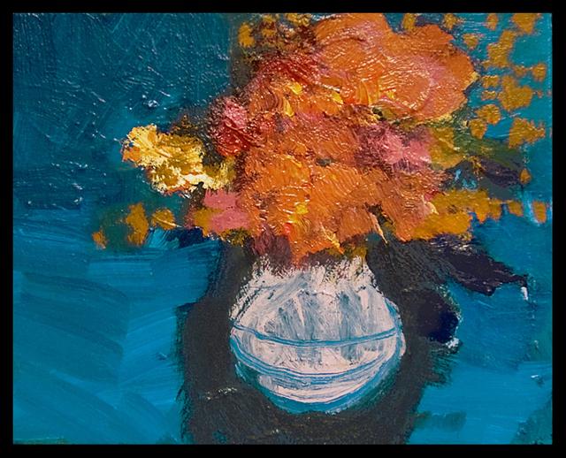 , 'Tangerine Blue,' 2014, Oeno Gallery