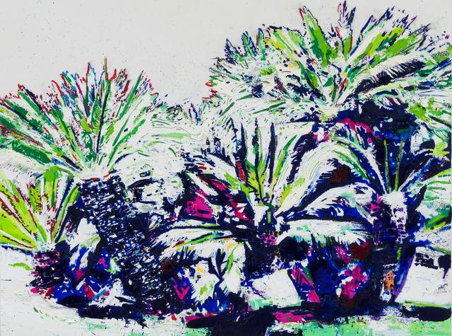 , 'Landscape Study (Huntington Gardens I),' 2016, Taymour Grahne Gallery