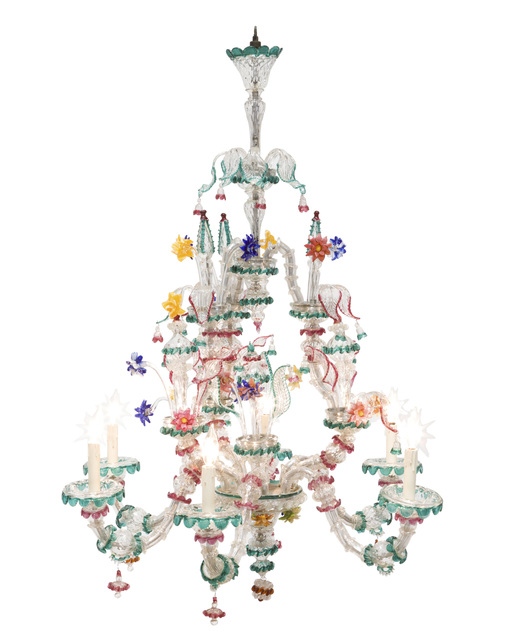 Murano, 'A Murano glass chandelier', John Moran Auctioneers
