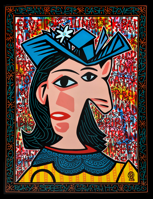 , 'Picasso Woman,' 2018, Fabien Castanier Gallery