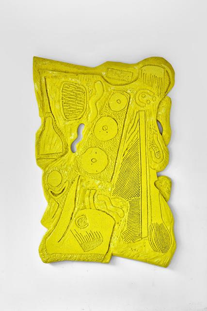 , 'Lelo *0004 Giallo Limone,' 2017, Galerie Eric Hussenot