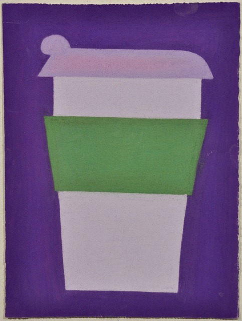 , 'Untitled (Purple and Green Coffee Cup on Purple),' 2010, Fleisher/Ollman