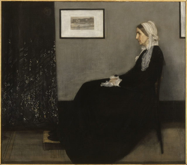 , 'Arrangement in Grey and Black, No. 1 (Portrait of the Artist's Mother),' 1871, Clark Art Institute