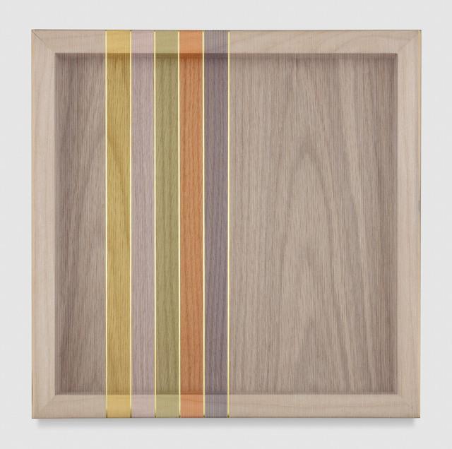 , 'Untitled (Grey Hovering Thread),' 2017, PRAZ-DELAVALLADE