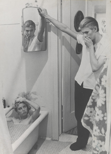 , 'Photo-collage by David Bowie of manipulated film stills from The Man Who Fell to Earth,' 1975-1976, Art Gallery of Ontario (AGO)