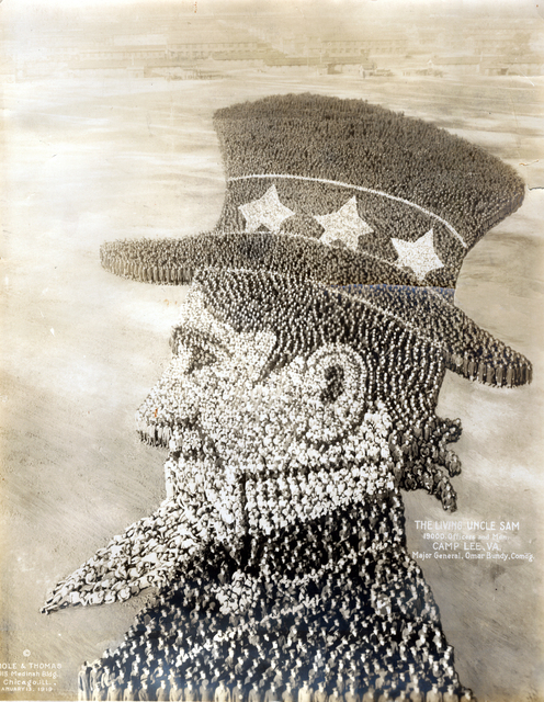 , 'The Living Uncle Sam,' 1919, Carl Hammer Gallery