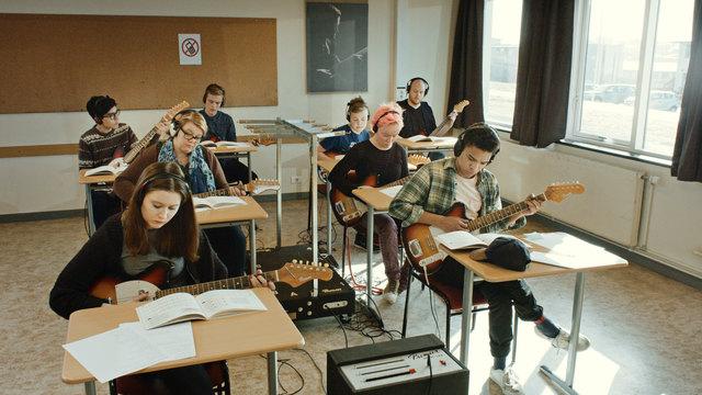 , 'Scenes from Western Culture, Guitar Lesson (Ólafía Hrönn Jónsdóttir, Logi Pedro Stefánsson),' 2015, Luhring Augustine