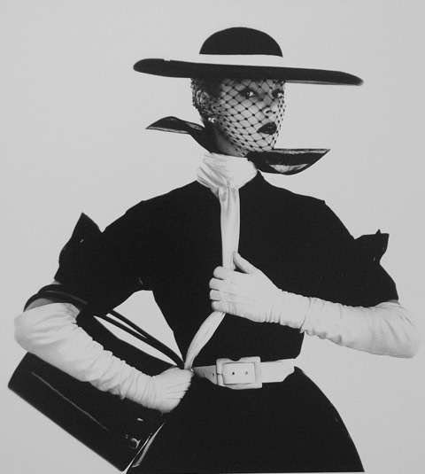 Irving Penn, 'B&W Fashion with Handbag B, Jean Patchett', 1950, Atlas Gallery