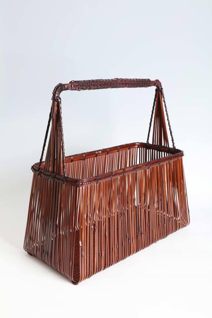 """, '""""Mount Fuji"""" Handled Flower Basket (#28),' Taisho era (1912-1926), Erik Thomsen"""