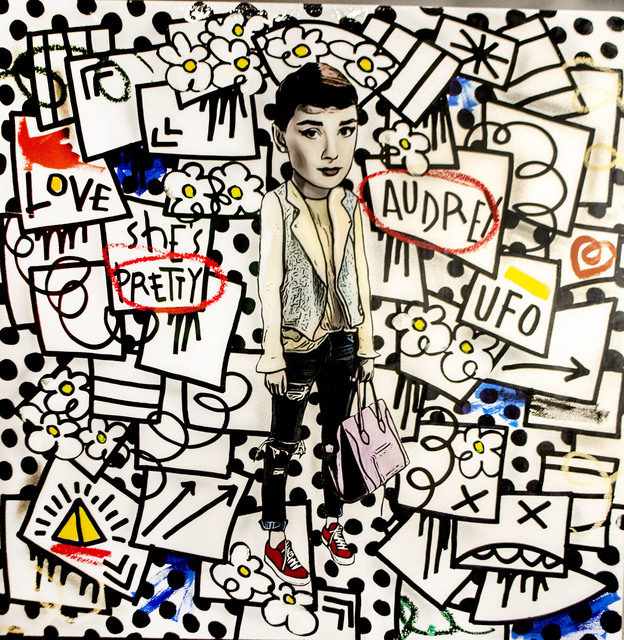 Flore x The Producer BDB, 'Audrey Hepburn', 2015, Mouche Gallery