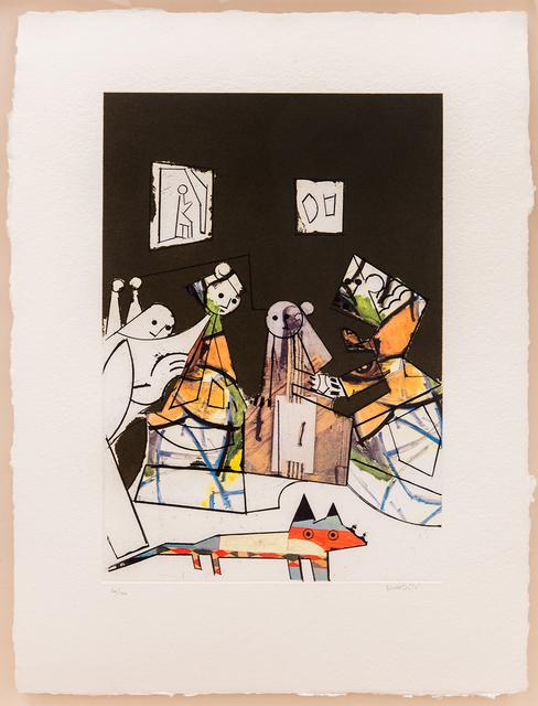 , 'El cubismo como pretexto 4,' 2003, Beck & Eggeling
