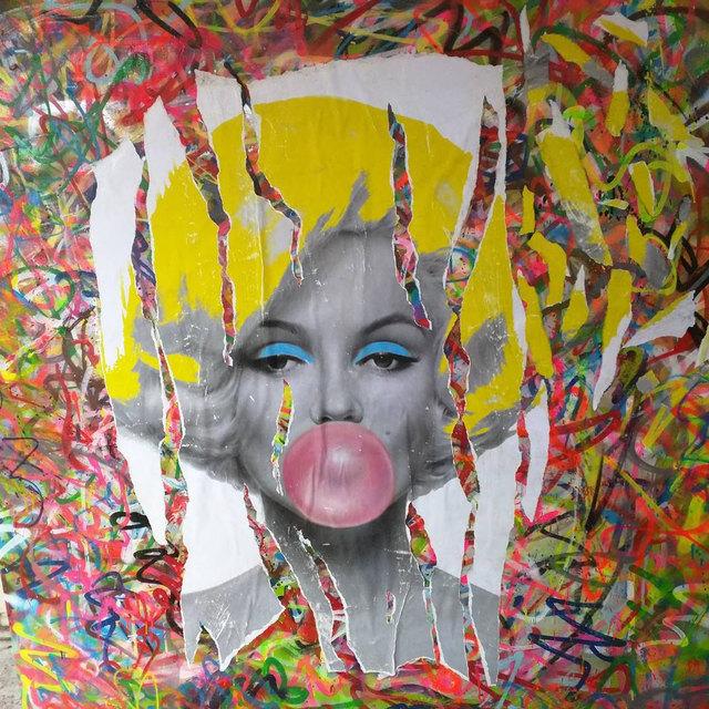 , 'Marilyn Monroe Bubble Gum,' 2016, Impact Art Gallery