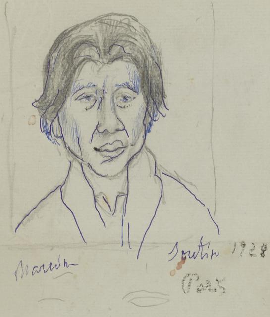 Marie Vorobieff Marevna, ''Chaïm Soutine, 1928'', Roseberys