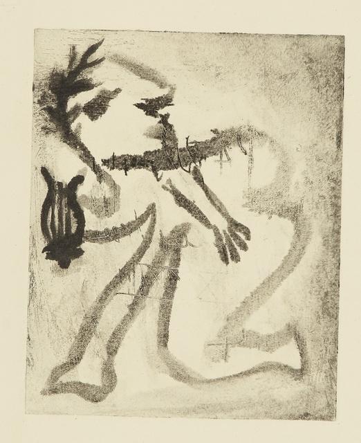 Pablo Picasso, 'Orphée, ou le poète. II (Ba. 541)', 1933, Print, Monotype, Sotheby's