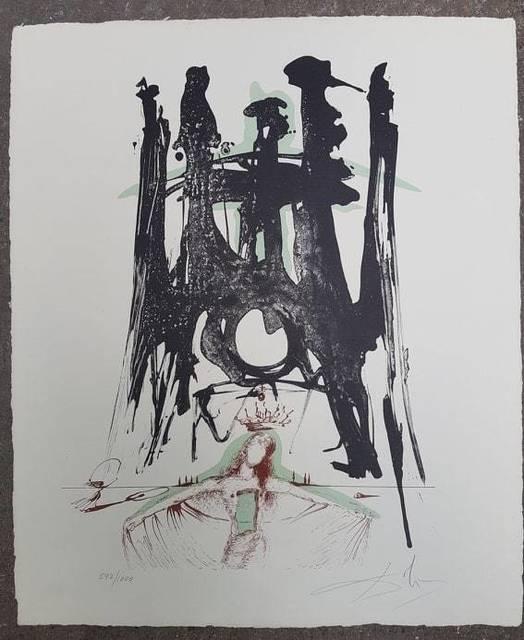 Salvador Dalí, 'El Templo de la Sagrada Familia', 1971, Hidden