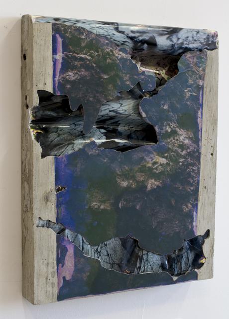 , 'Lava Lava Concrete Bend,' 2015, Galerie Christophe Gaillard