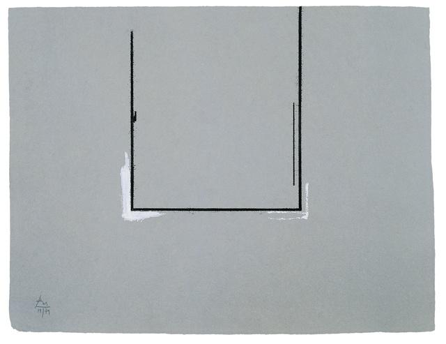 Robert Motherwell, 'Gray Open with White Paint', 1981, Kasmin