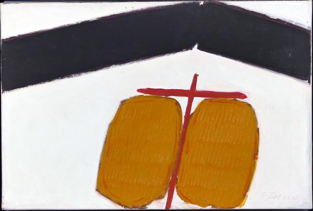 """Georg Karl Pfahler, 'Formativ """"ARC""""', 1961, Painting, Mixed Media on Canvas, Malte Uekermann Kunsthandel"""