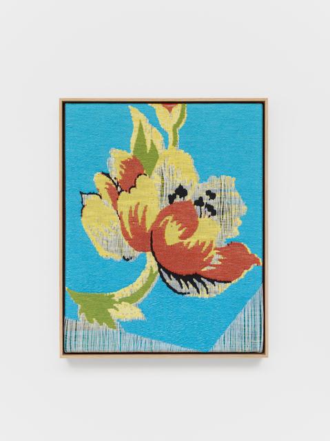 Lisa Oppenheim, 'Jacquard Weave (Flower)', 2017, Tanya Bonakdar Gallery