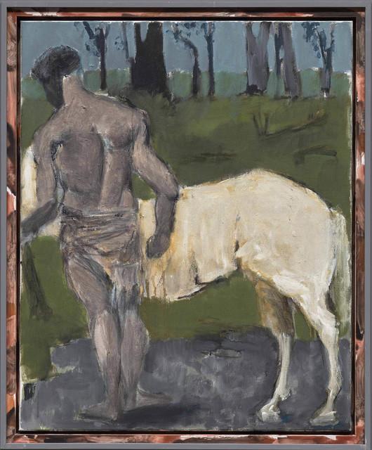 """, '""""Weißes Pferd (White Horse)"""",' 2017, Michael Werner Gallery"""
