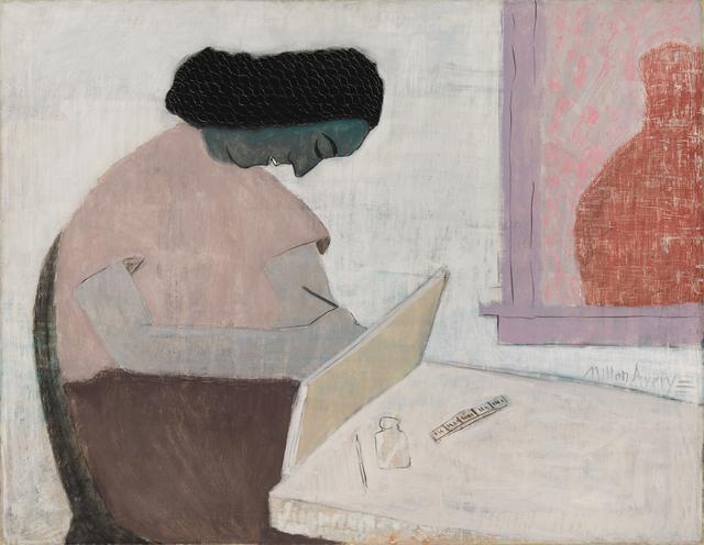, 'Woman Drawing,' 1942, Vallarino Fine Art