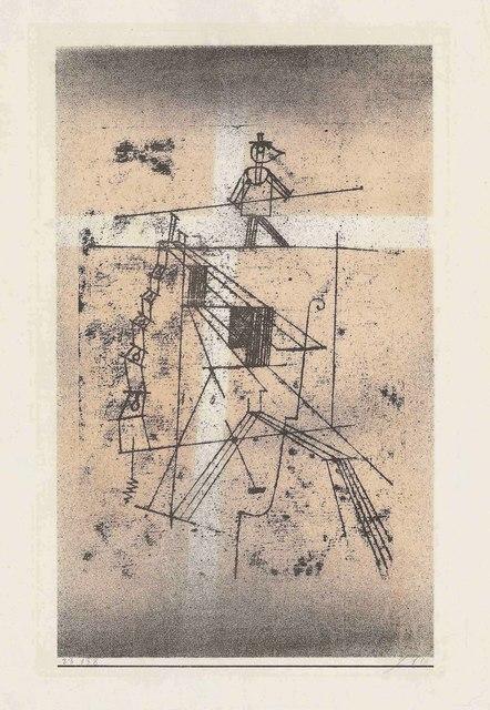Paul Klee, 'Seiltänzer', 1923, Christie's