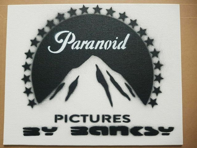 """Banksy, 'BANKSY DISMALAND """"PARANOID PICTURES"""" COMPLETE WITH COA', 2015, Arts Limited"""