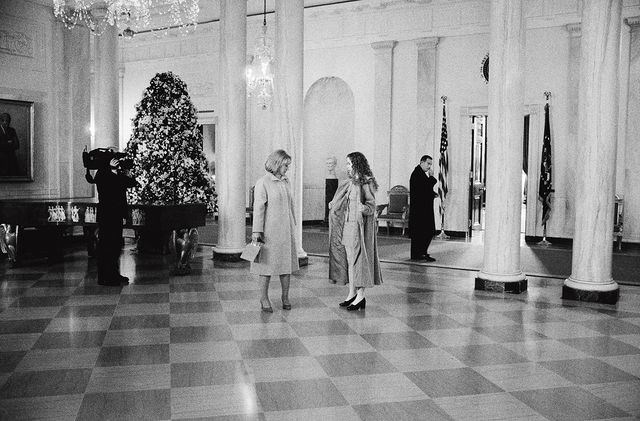 , 'Hillary and Chelsea Clinton, State Floor, the White House,' 1997, Addison/Ripley Fine Art