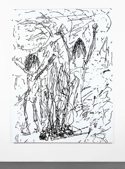 , 'Fullmoon Fire,' 2017, Almine Rech
