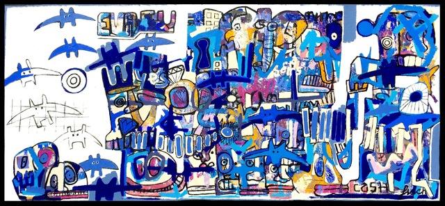 , 'City Bats,' 2015, Artspace Warehouse