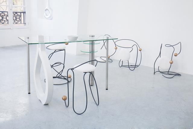 , 'Je peux lire dans tes doigts,' 2015, Galerie Joseph Tang