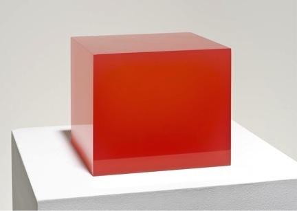 , 'Red cube ,' 2015, NYEHAUS