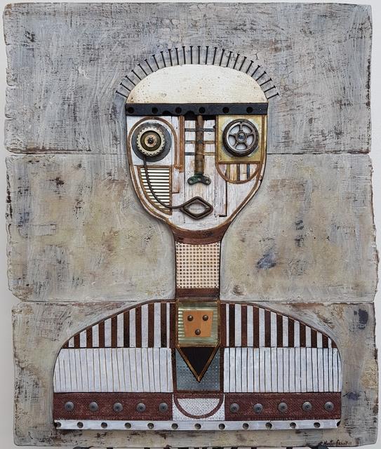 , 'Eye Piece Portrait,' 2017, TOTH GALLERY
