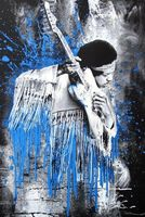 Mr. Brainwash, Jimi (Blue)